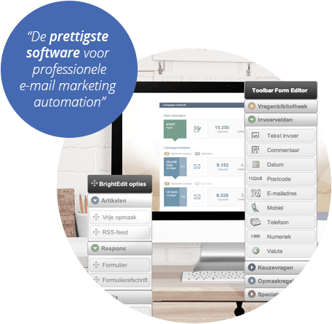 MailPlus: de prettigste software voor professionele e-mail marketing automation